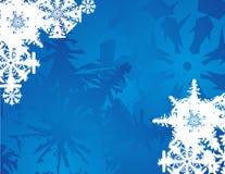 Gelo e flocos de neve Imagem de Stock Royalty Free