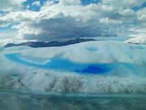 Gelo e natureza do inverno Foto de Stock Royalty Free