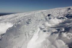 Gelo e neve Imagem de Stock Royalty Free