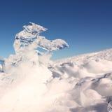Gelo e neve Fotografia de Stock Royalty Free