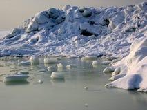 Gelo e neve. Fotografia de Stock