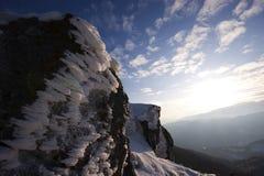Gelo e nuvens Foto de Stock Royalty Free