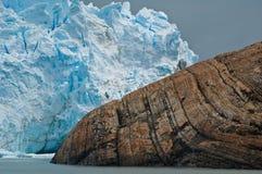 Gelo e rocha Fotos de Stock
