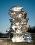 Gelo e sol Imagens de Stock Royalty Free