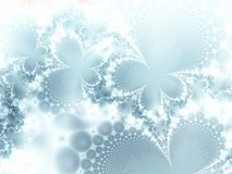 Gelo-flores Fotos de Stock