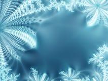 Gelo-flores Imagem de Stock