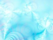 Gelo-flores Imagens de Stock