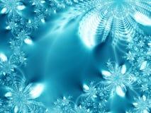 Gelo-flores Fotografia de Stock