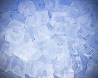 Gelo fresco para o fundo imagem de stock royalty free