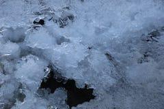 Gelo frio Fotografia de Stock