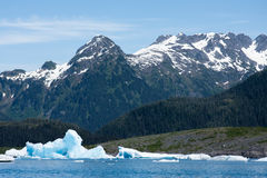 Gelo glacial no príncipe William Sound Fotos de Stock