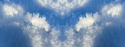 Gelo invernale Fotografie Stock