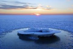 Gelo in mare Immagine Stock Libera da Diritti
