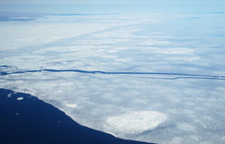 Gelo marinho ártico Fotos de Stock Royalty Free