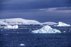 Gelo marinho landscape-3 da Antártica Fotografia de Stock Royalty Free