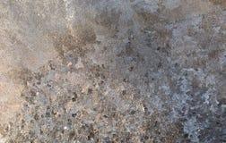 Gelo na placa de janela Foto de Stock