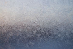 Gelo no indicador Fotografia de Stock
