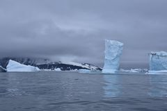 Gelo no oceano Imagem de Stock