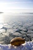 Gelo no Oslo-fjord Imagem de Stock Royalty Free