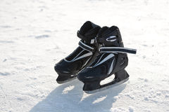 Gelo-patins. Fotografia de Stock