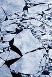 Gelo quebrado Fotos de Stock Royalty Free