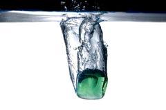 Gelo verde imagens de stock royalty free