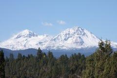 Geloof en Hoop in de Cascades Stock Foto's