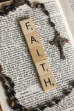 Geloof in godsdienst Stock Foto's