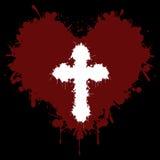 Geloof in het hart stock illustratie