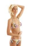 Gelooide blonde #2 royalty-vrije stock foto's