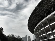 Gelora bung karno stadium Obrazy Stock