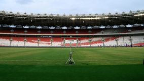 Gelora Bung Karno Stadium royalty free stock photography