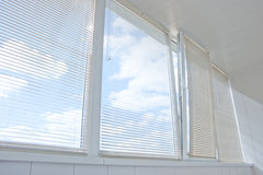Gelosia di Windows Fotografia Stock