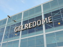 GelreDome, Vitesse Arnhem, The Netherlands. The GelreDome is a football stadium in the city of Arnhem, in the Netherlands. It serves as the home of the football Royalty Free Stock Photo
