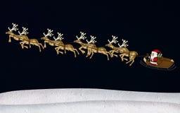 Gelso della renna di natale Fotografia Stock