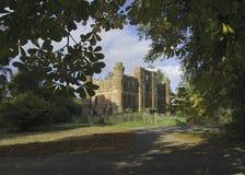 Gelston城堡废墟 免版税图库摄影