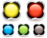 gelsymbolsmarmor Fotografering för Bildbyråer