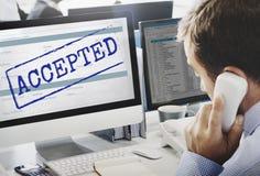 Geltendes Herausforderungs-Änderungs-auserlesenes überzeugtes Konzept Lizenzfreie Stockbilder