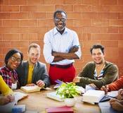 Geluk Team Concept van de mensen het Communautaire Samenhorigheid Royalty-vrije Stock Afbeelding