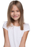 Gelukkig aanbiddelijk jong meisje Stock Fotografie
