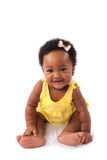 Gelukkig babymeisje Royalty-vrije Stock Fotografie