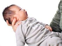 Gelukkig babymeisje Stock Foto