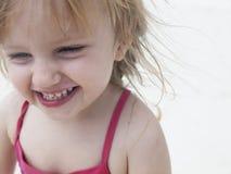 Gelukkig babyportret Royalty-vrije Stock Fotografie
