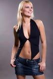 Gelukkig blonde Royalty-vrije Stock Afbeelding