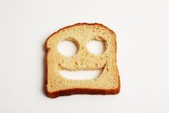 Gelukkig Brood Stock Foto's