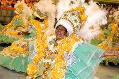 Gelukkig Carnaval Stock Foto