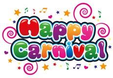 Gelukkig Carnaval Royalty-vrije Stock Foto