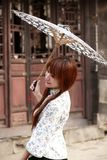 Gelukkig Chinees meisje Stock Foto