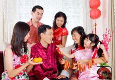 Gelukkig Chinees nieuw jaar Stock Fotografie