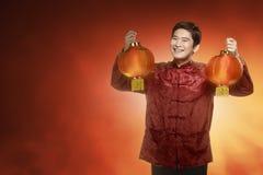 gelukkig Chinees nieuw jaarconcept Royalty-vrije Stock Foto's